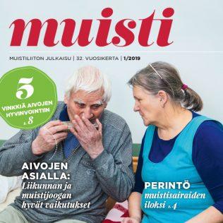 Muisti-lehti 1/2019, Mainostoimisto MAK Media Oy, Forssa